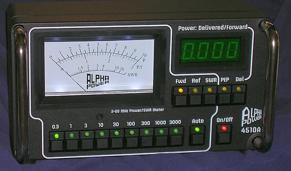 Alpha 4510A Wattmeter