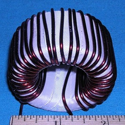 Inductor, 160m (2-core toroid) for 76 & 76A