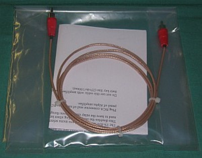 Cable, Amp Keying - Icom (RCA - RCA) 2 feet long