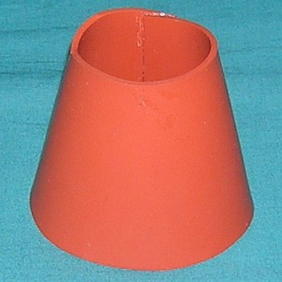 Chimney , Silicone Rubber, for 3CX1500 / 8877 tubes in the Alpha 77Dx, 77Sx