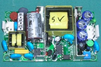 Power Supply, 5.1 VDC 4.0A Switching  (8410, 8406, 9500)