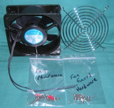 Muffin Fan, 115V External  - for 8410