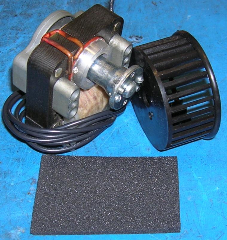 Blower Motor with fan 230VAC