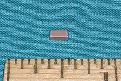 Capacitor, 0.01uF 500V - 10% - SMD