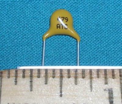 Capacitor, Disc Ceramic 4.7pF 3kV