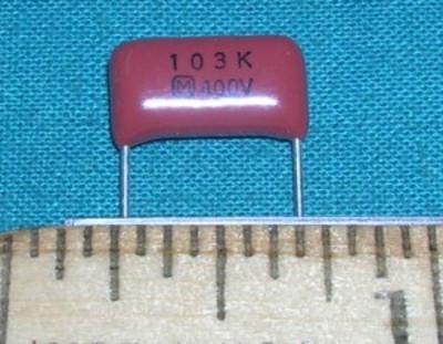 Capacitor, Ceramic 0.01uF 400V