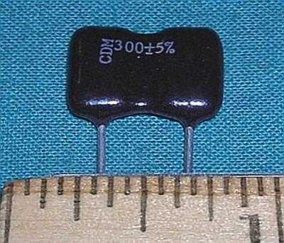 Capacitor, 300pF 500V