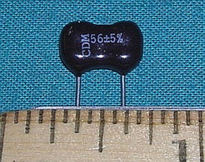 Capacitor, 56pF 500V