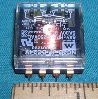 Relay, 24VDC DPDT 5A 250VAC