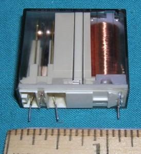 Relay, 24VDC SPDT HV TAP Selector, 87A