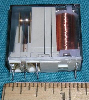Relay, 12VDC SPDT 16A 400VAC
