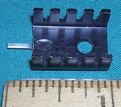 TO-220 Case Heatsink with solder tab