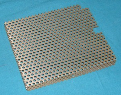 Cover, Perforated metal, for 87A Output Module