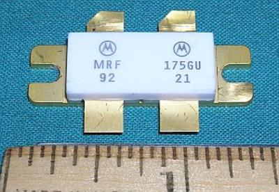 Transistor, MRF175GU RF Power 28VDC 150W 500MHz