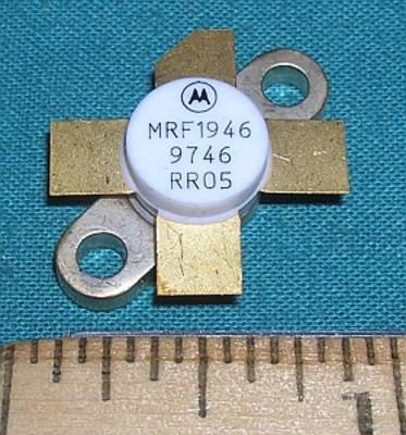 Transistor, MRF1946 RF Power 12.5VDC 30W 136-220MHz