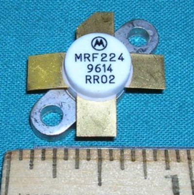 Transistor, MRF224 RF Power 12VDC 40W 130-175MHz