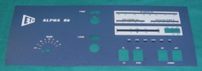 Front Panel,  Alpha 86