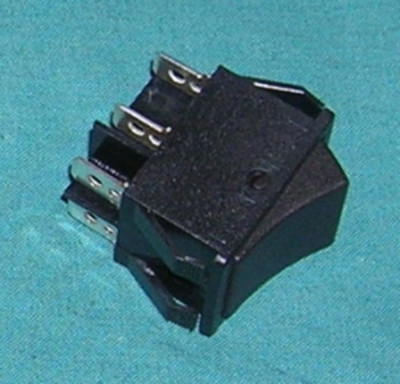 Switch, DPDT NO Momentary Rocker Switch