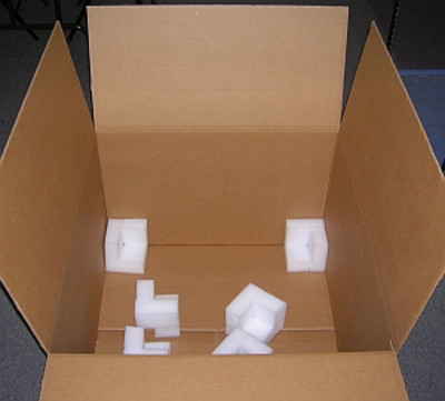 Box and Foam Kit, Outer Amplifier Box