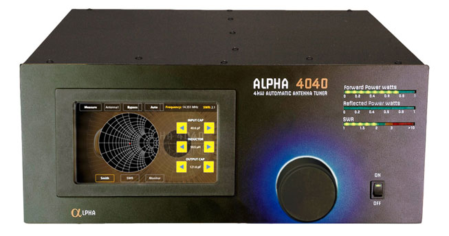 Alpha 4040 Automatic Antenna Tuner – Alpha RF Systems