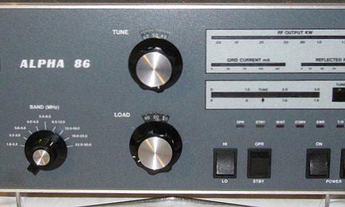 Alpha 86 – Alpha RF Systems